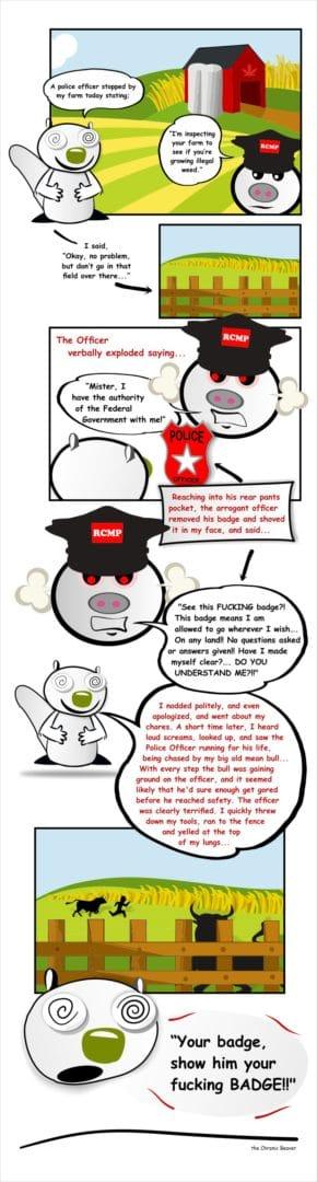 The Illegal Grow Op Cartoon