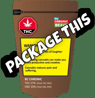 "Canada cannabis ""Package This"""