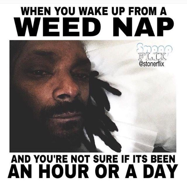 Weed Nap Meme