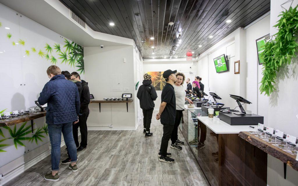 Ameri Yorkville Cannabis Boutique Toronto