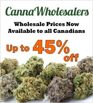 CannaWholesalers wholesale dispensary Canada coupon code